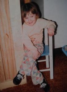Baby Kiki rockin' the pants