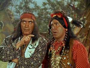 Chief Wild Eagle drives a hard bargain.
