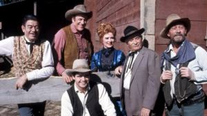 This is the cast configuration I know best. See the smiles? The Wild West wasn't a total downer.