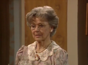Jeanette Nolan on Golden Girls